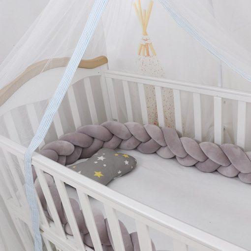 mylinne softy newborn crib bumper