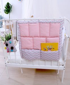 mylinne natty multi pocket cot storage bag