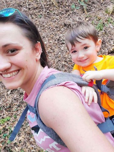 Mylinne Carry - Newborns & Toddlers Ergonomic Carrier photo review