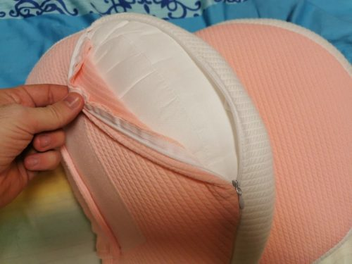 Mylinne Cozy - Side Sleeping Pregnancy Pillow photo review
